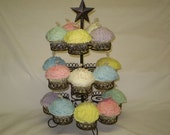 Buttercream Cupcake Candles (3)