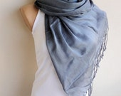 Natural Soft Cotton Unisex Scarf,Wrap,Shawl,Neckwarmer,Light Scarf,Wrap , Fall Fashion Accessory
