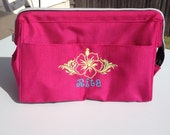 FREE SHIPPING - Large Toiletries Bag/Dop Kit Personalized Just for You