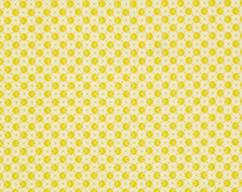 Chicopee by Denyse Schmidt - Lime Zig Zag Dot -  FQ fat quarter cotton quilt fabric 516