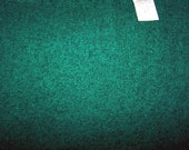 Vintage 1960's Green Wool and Nylon-Cleveland Woolens- 61 Inches Wide by 75 Inches Long