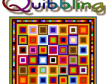 QUIBBLING - Quilt-Addicts Patchwork Quilt Pattern