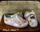 Milly J's Shoe Designs - Beatrix Potter Trainers (Art To Wear)