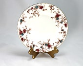 Vintage Minton bone china Ancestral pattern salad or dessert plate