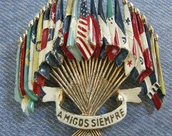 Amigo Siempre Flags of the World