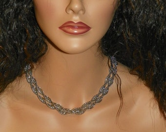 Spiral Chain Necklace