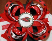 Arizona Cardinals Football hair bow