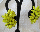 Vintage Banana Bunch Earrings