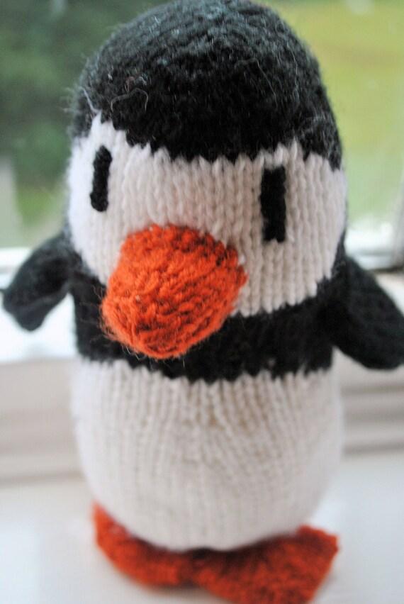 Plump Penguin Stuffed Animal