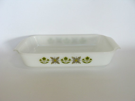 Items Similar To Anchor Hocking Ovenware Fire King Loaf
