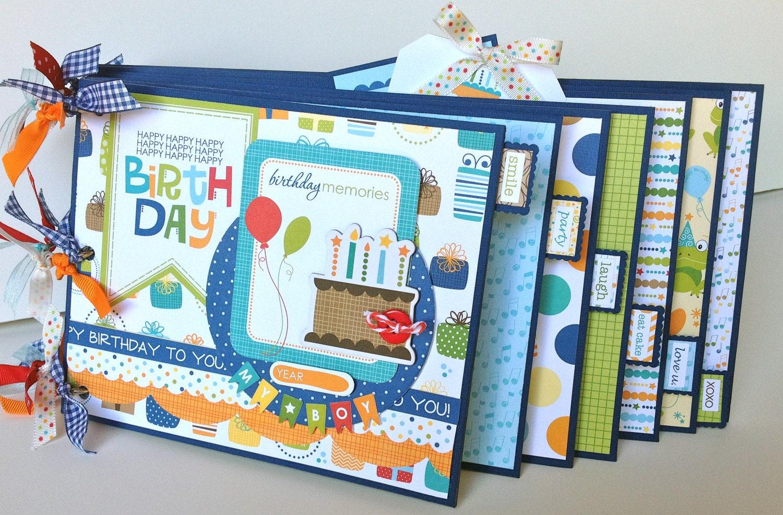 Handmade scrapbook ideas for birthday -  Zoom