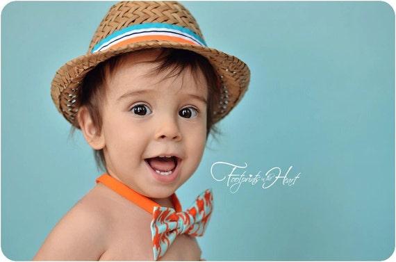 Kids Bow Tie,  Baby Boy- Houndstooth