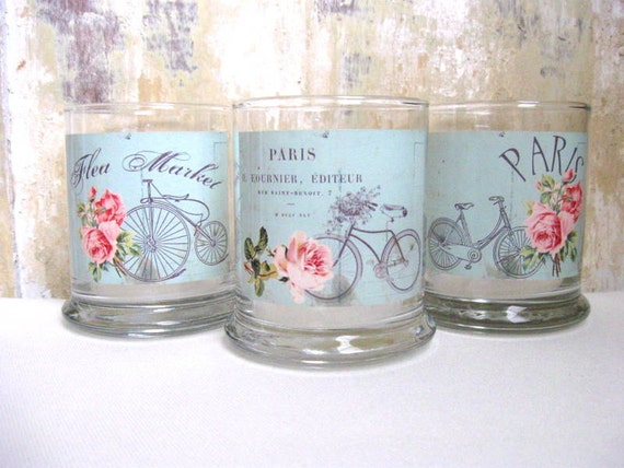 Candle Holders, Paris, French Country Home, Bicycle, Cottage Decor, Home Decor, Housewares