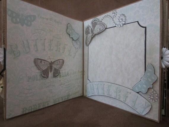 Paper Bag Album, Scrapbook Album, Album, Photo Album, by Island Lilly Designs