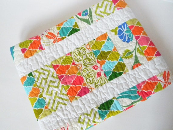 Bright and Modern Quilt Girl