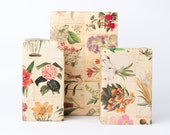 Botanical Wrapping Paper / 12 Sheets