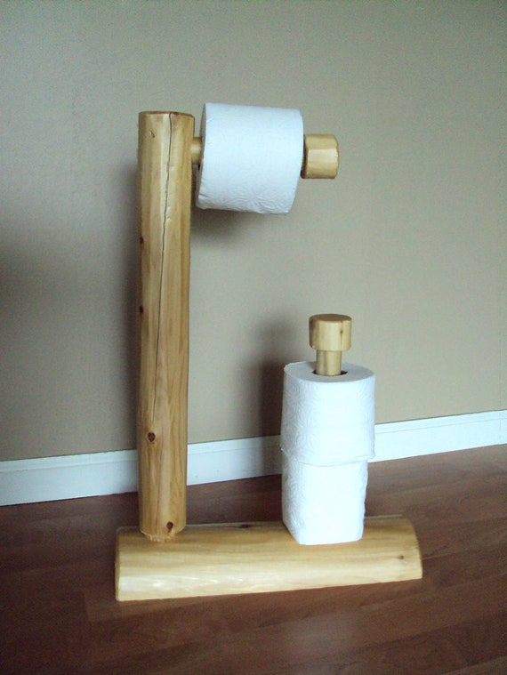 rustic toilet paper holder rustic log toilet paper tree home cabin furniture holder 911