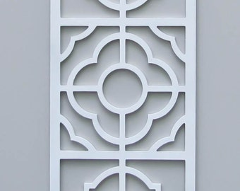 Unfinished Large Fretwork Wall Panel No. 2101