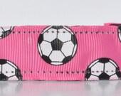Soccer Headband - Pink Soccer Headband - Personalized Headband - No Slip Headband - Non Slip Headband - Soccer Team Headbands - Team Gifts