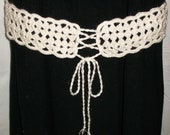 BELT - crochet PATTERN PDF is adjustable for any size