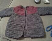 Crochet Newborn Sweater
