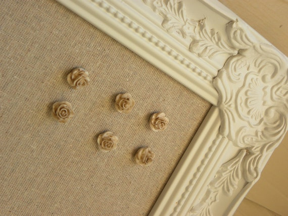 Decorative Cork Board, fabric bulletin board, jewelry organizer