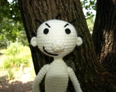 Rodrick Amigurumi poesable figure, The Diary of a Wimpy Kid