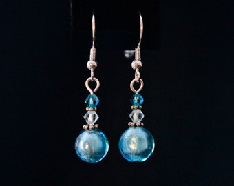 Spun Sugar Drop Earrings