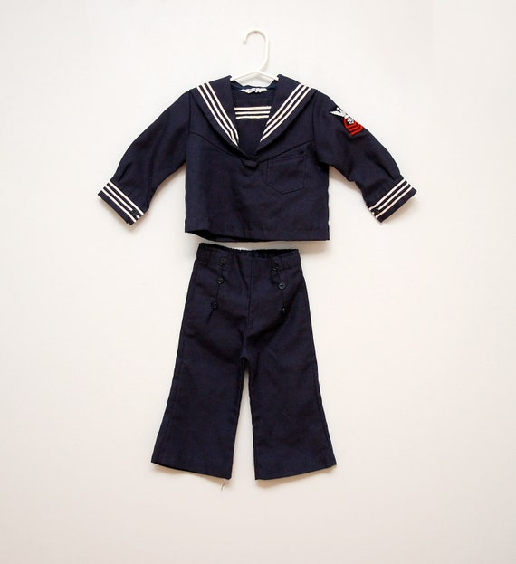 Vintage toddler's sailor outfit