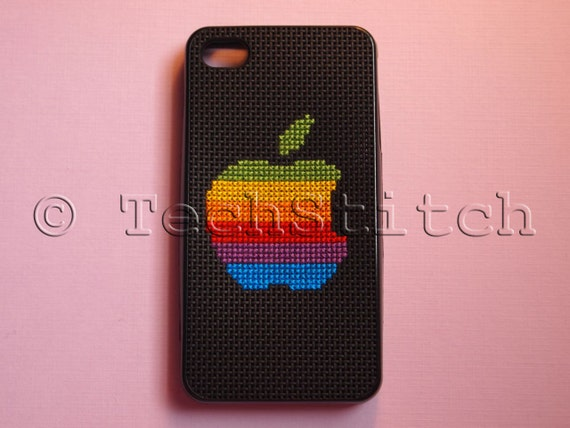 Classic Apple Logo Case for iPhone 4 and 4S