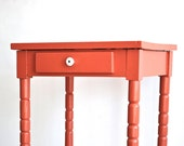 Coral Side Table or End Table - Etsy Front Page Item