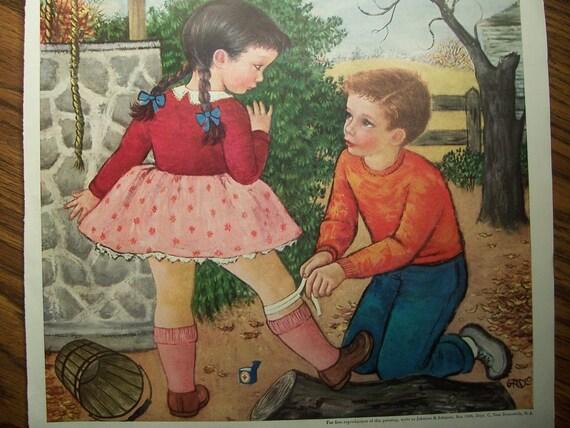 1950 JOHNSON & JOHNSON ADVERTISEMENT
