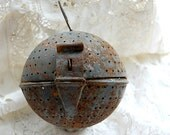 TREASURY LIST - Very unusual vintage French kitchen gadget, huge spice infuser from a restaurant kitchen - LaCroixRosion