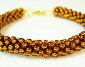 Brown Kumihimo Bracelet