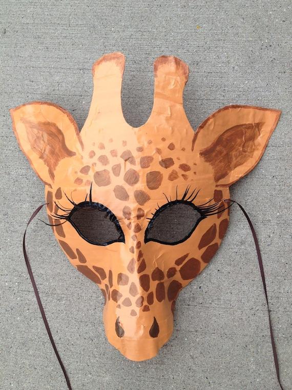 Giraffe Mask Giraffe Costume