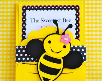 Custom Bumble Bee Invitations