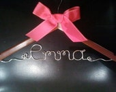 Custom Personalized Hanger for Wedding or Special Occasions