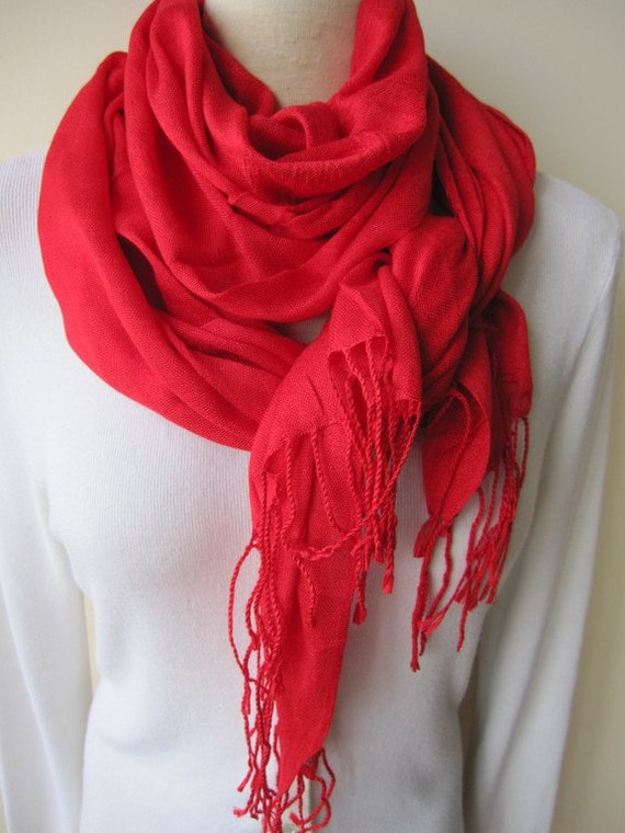 solid plain scarfpomegranate scarf viscose
