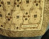 5 D SALE Jones of New York Silk Scarf W/FREE SHIPPING