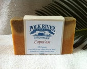 ORGANIC Olive Oil and RAW Goat Milk Soap Capra'ese
