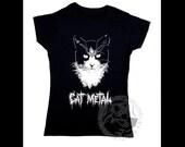 Cat Metal t-shirt