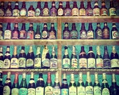 Beer Photography On The Wall Home Bar--Fine Art Kitchen Lomography 8.5x11