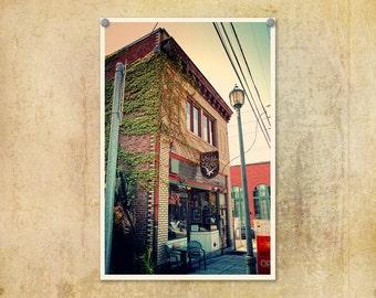 Portland Oregon Photo McMenamins White Eagle Saloon--Fine Art Lomography 8x12