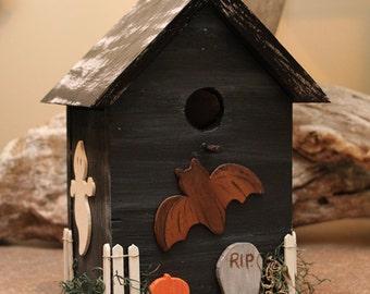 Halloween Bird House