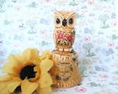 Louisiana Japan Owl Bell -- Vintage 1970's