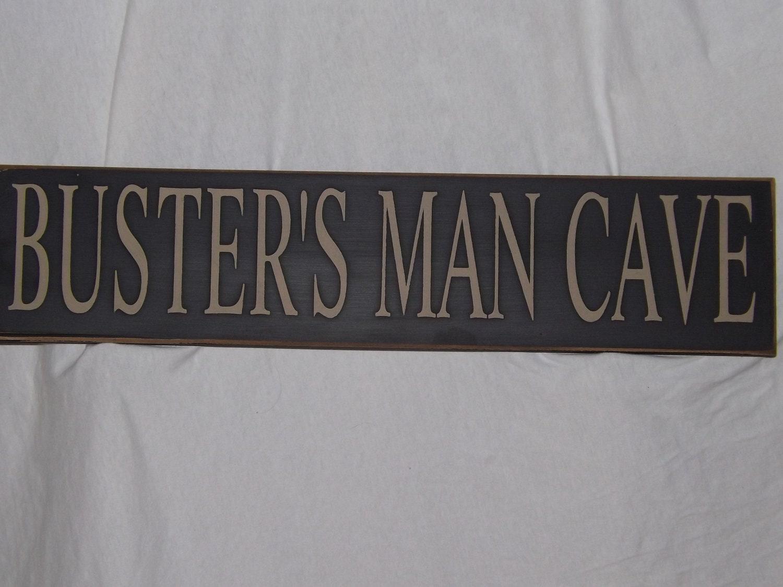 man cave sign customizable man cave prim style man cave. Black Bedroom Furniture Sets. Home Design Ideas