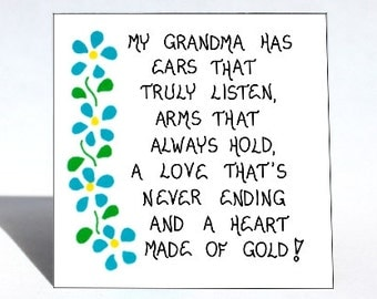 Popular Items For Grandmother Quotes On Etsy