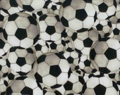 Soccer Futball Fabric 100% Cotton Quilting Sewing
