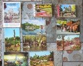 Vintage Disneyland / Knott's Berry Farm Souvenirs,1967 Post Cards, Photo Books