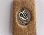 Owl of Wisdom Pendulum Pendant